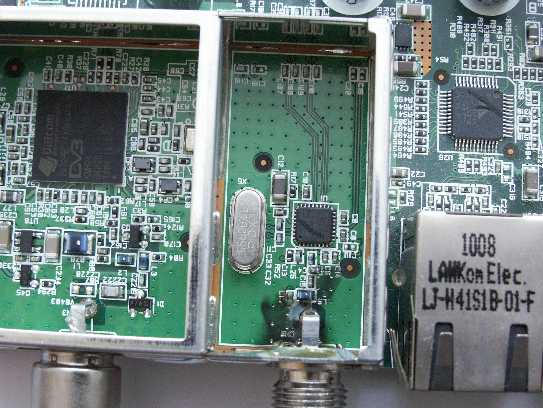 Dekoder ITI-2850ST-Po uderzeniu piorunem