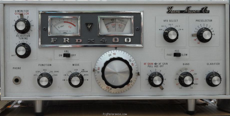 Yaesu FRDX-400, FRDX400 Instrukcja EN