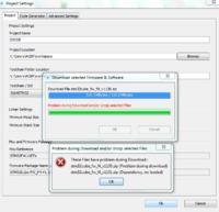 STM32 pakiet GPIO - błąd przy pobieraniu