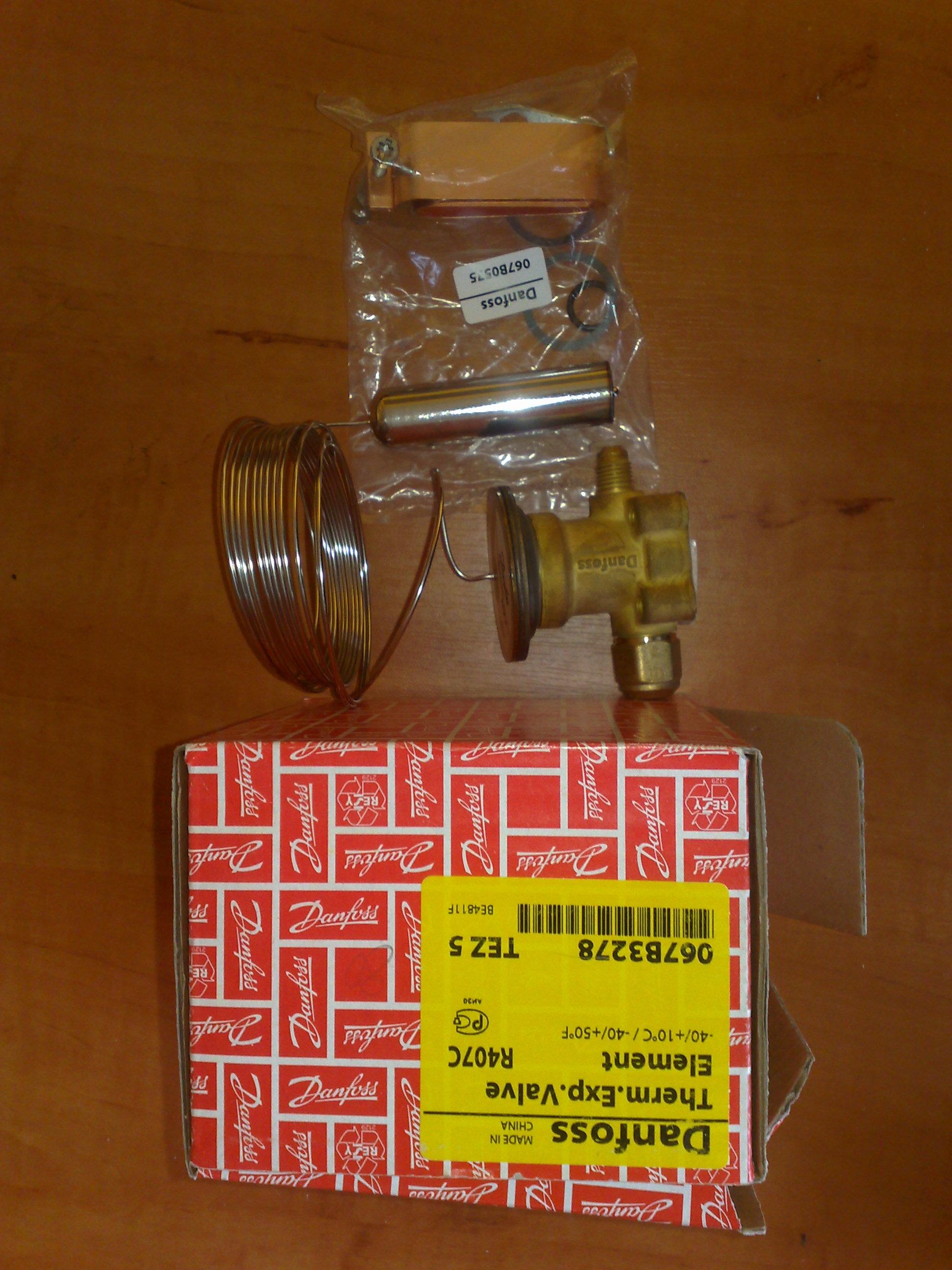 sprzedam element termostatyczny Danfoss TEZ5 067B3278 R407C