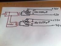 Zasilacz symetryczny 45V, czy kondensator na napięcie 50V będzie dobry?