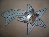 Gwiazda Betlejemska LED - wykonanie własne.