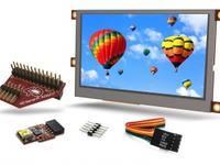uLCD-28PTU-PI i uLCD-43PTU-PI - zestawy z ekranami dotykowymi dla Raspberry Pi