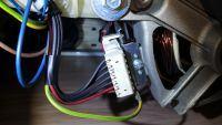 Indesit IWDC6125 - Magiczny dym, spalony silnik?