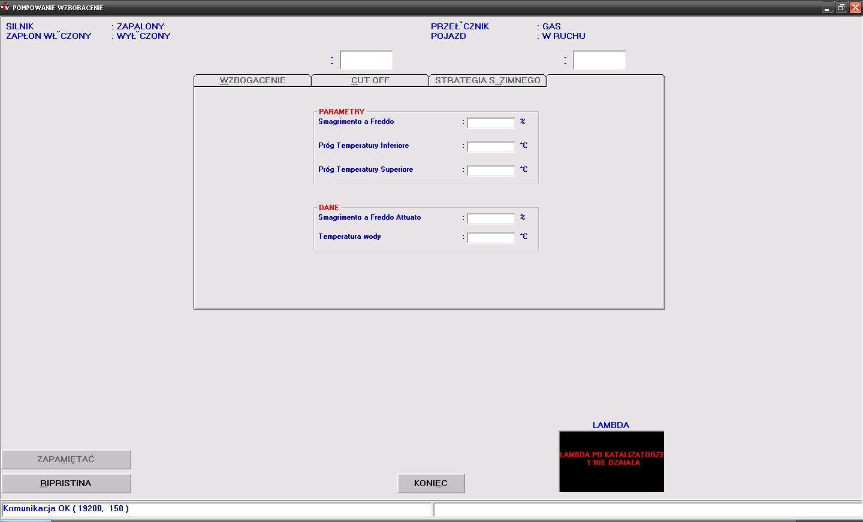 BRC Sequent Fast - brak lambdy po katalizatorze + plik ACQ