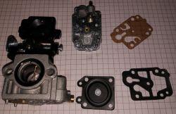 Handy GKS 520-4W1 - Pluje paliwem z wydechu przy rozruchu , nie odpala.