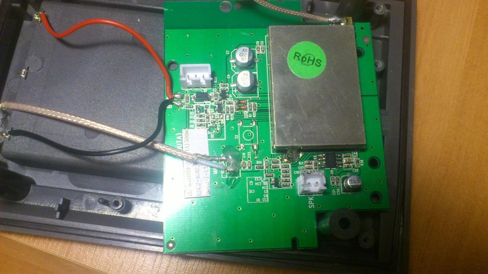 Eura RL-0510AD - Brak d�wieku na panelu zewn�trzynym.