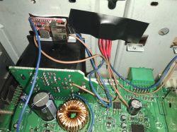 6000CD RDS EON - Brumienie w tle po wlutowaniu modułu bluetooth.