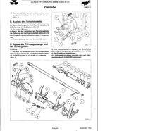 MF 3060 skrzynia biegów - jak zdjąć przesuwkę pierwszego biegu?