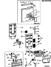 Chłodziarko-zamrażarka Ariston MBT 1912 FI - gasnący wyświetlacz