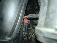 Ford Focus mk2 2006 1.6 b. - Przepustnica - wyjęcie kostki