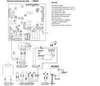 Schemat elektroniczny kot�a Radiant RBC 24 Elite