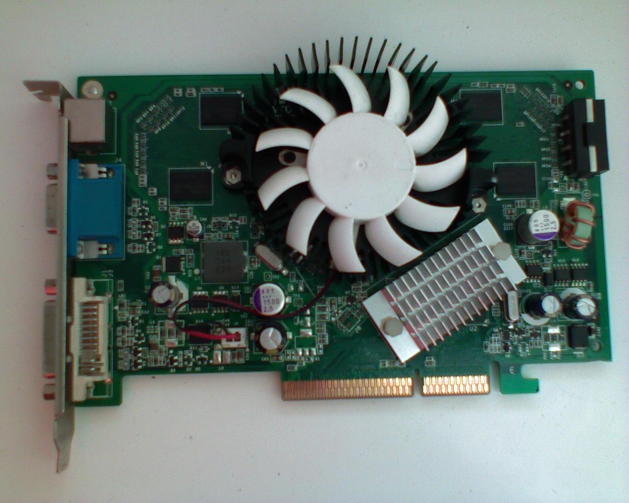 [Sprzedam] �wietny GeForce 7600GS DDR2 256MB AGP OC! Gwarancja!