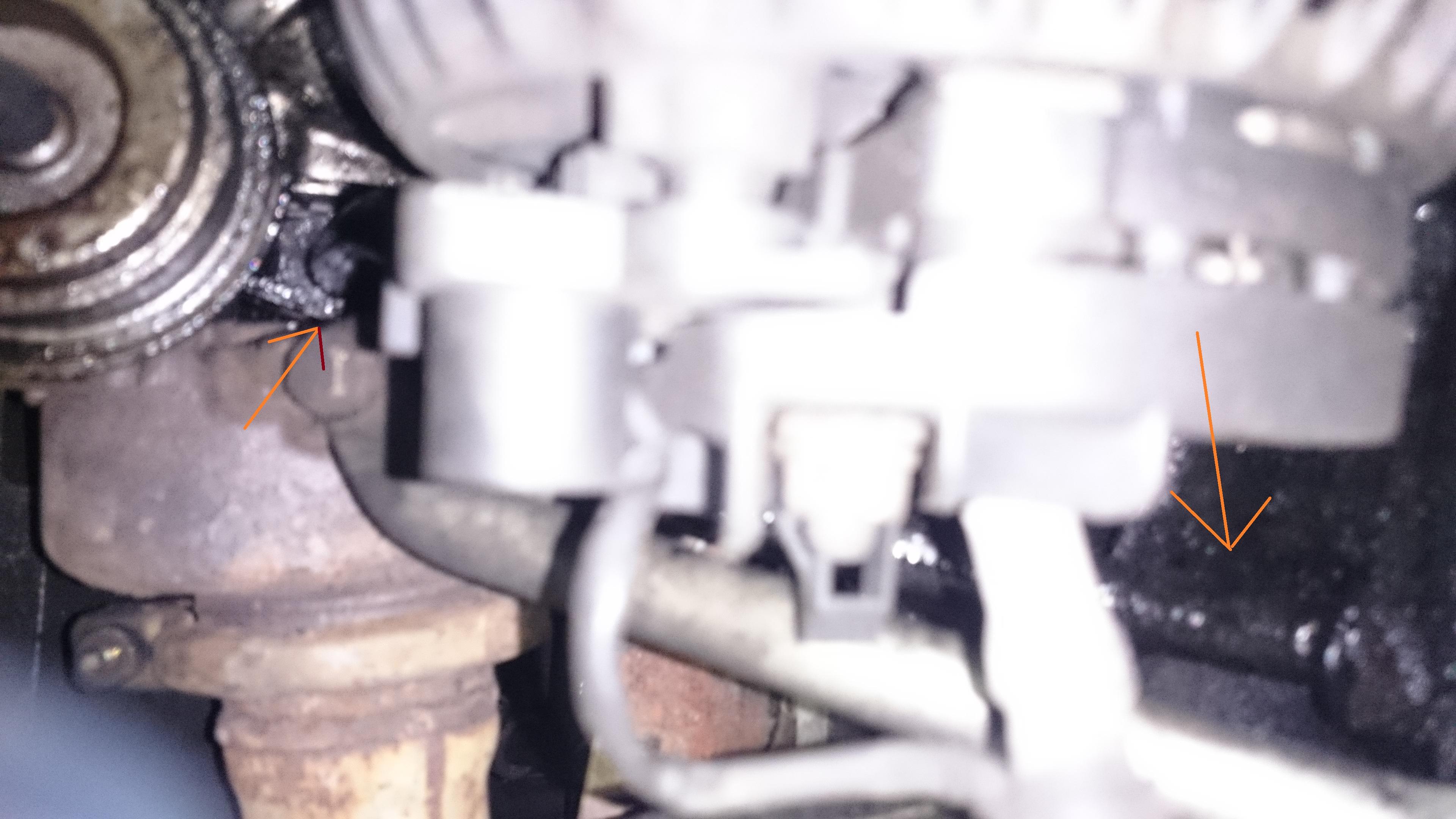 Mercedes Sprinter 313 CDI 2,2 - Wyciek oleju przy turbinie