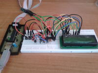 [Bascom][Atmega8] Termostat do wytrawiarki - Krzaki na LCD i Reset.