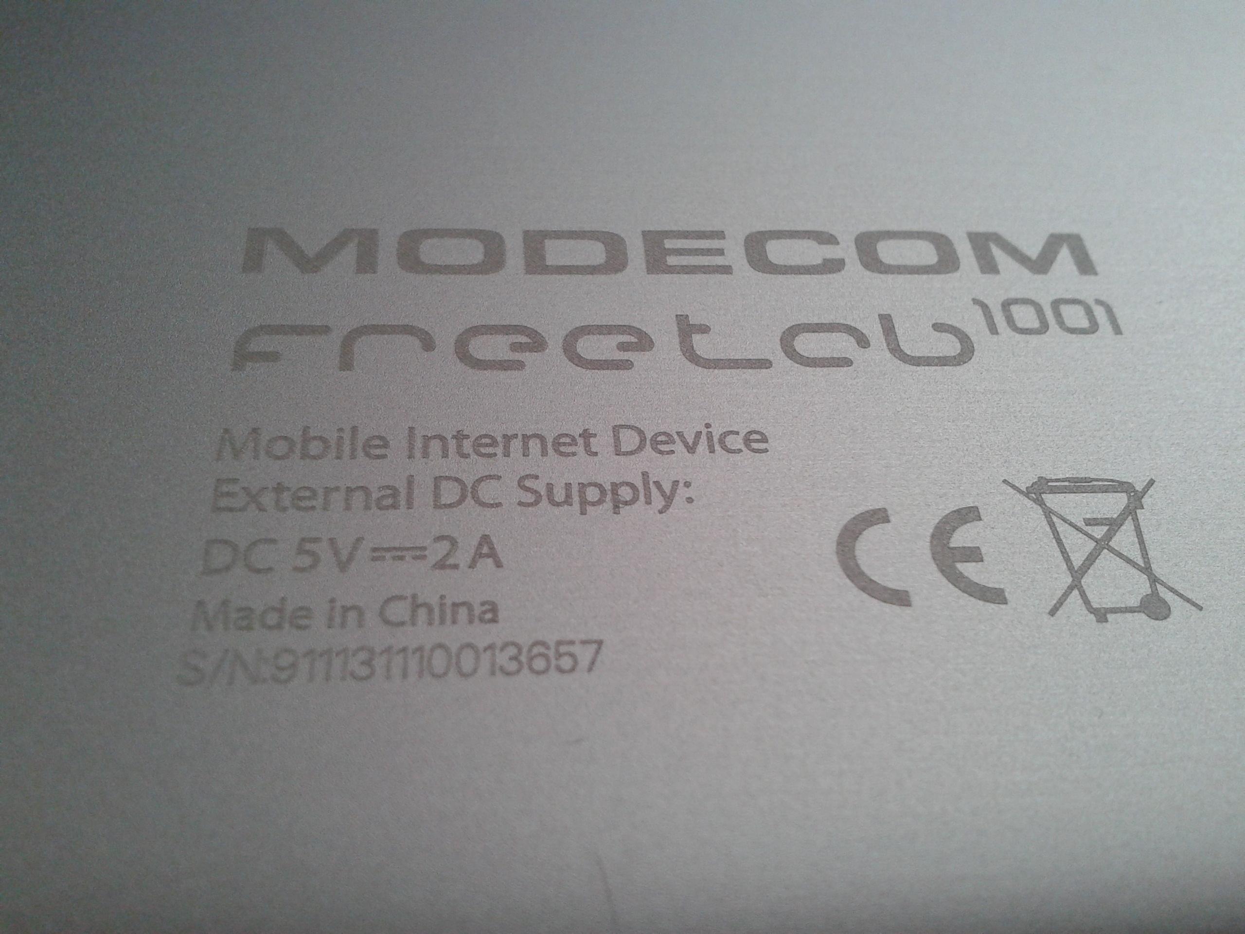 """[Sprzedam] Nowy tablet MODECOM Freetab 1001 / 7.85"""""""