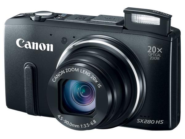 Canon PowerShot SX280 HS - cyfrowy kompakt z 20x optycznym zoomem, WiFi i GPS