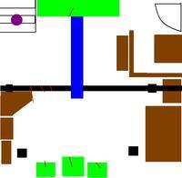 Ustawienie kolumn w pokoju - są zdjęcia i rysunki