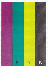 OKI C5650 - Blade pasy poziome - wszystkie kolory