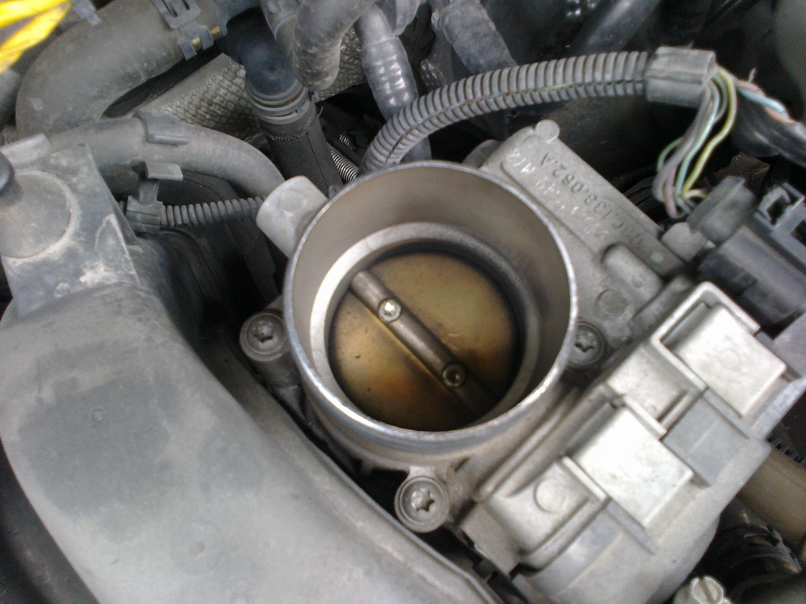 VW Golf V 1 6 FSI - Problem with the NOx sensor and the engine