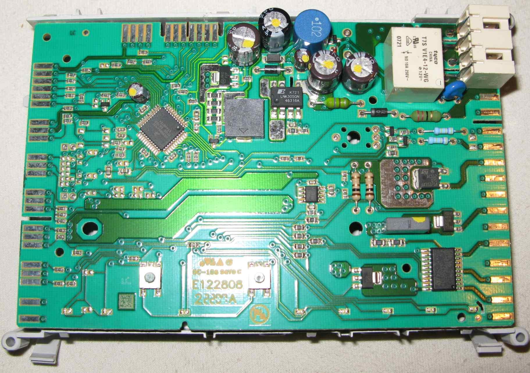 Whirlpool ADG7440/1 wymiana pompy magnetycznej na indukcyjn�, F4, wy��cza