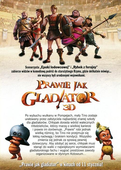 Prawie jak gladiator / Gladiatori di Roma (2012) PLDUB.DVDRip.XviD-SLiSU / DUBBiNG PL