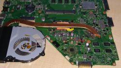 ASUS X550CA - Tylko podświetlenie po wymianie SLJ8E