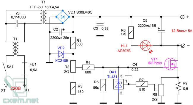 Зарядное устройство электроника с автоматическим отключением схема фото 50