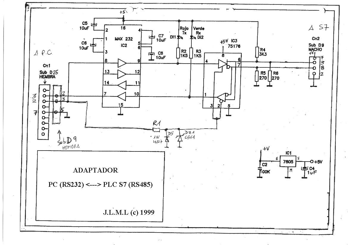 siemens s7-200 - konwerter rs232 -- u0026gt  rs485