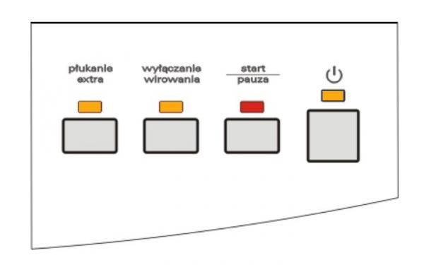 Amica AWCT10L - wszystkie diody �wiec� - pralka nie startuje
