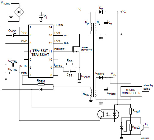 Philips 20PF4110/58  - jakie elementy w zasilaczu BL6L70P3