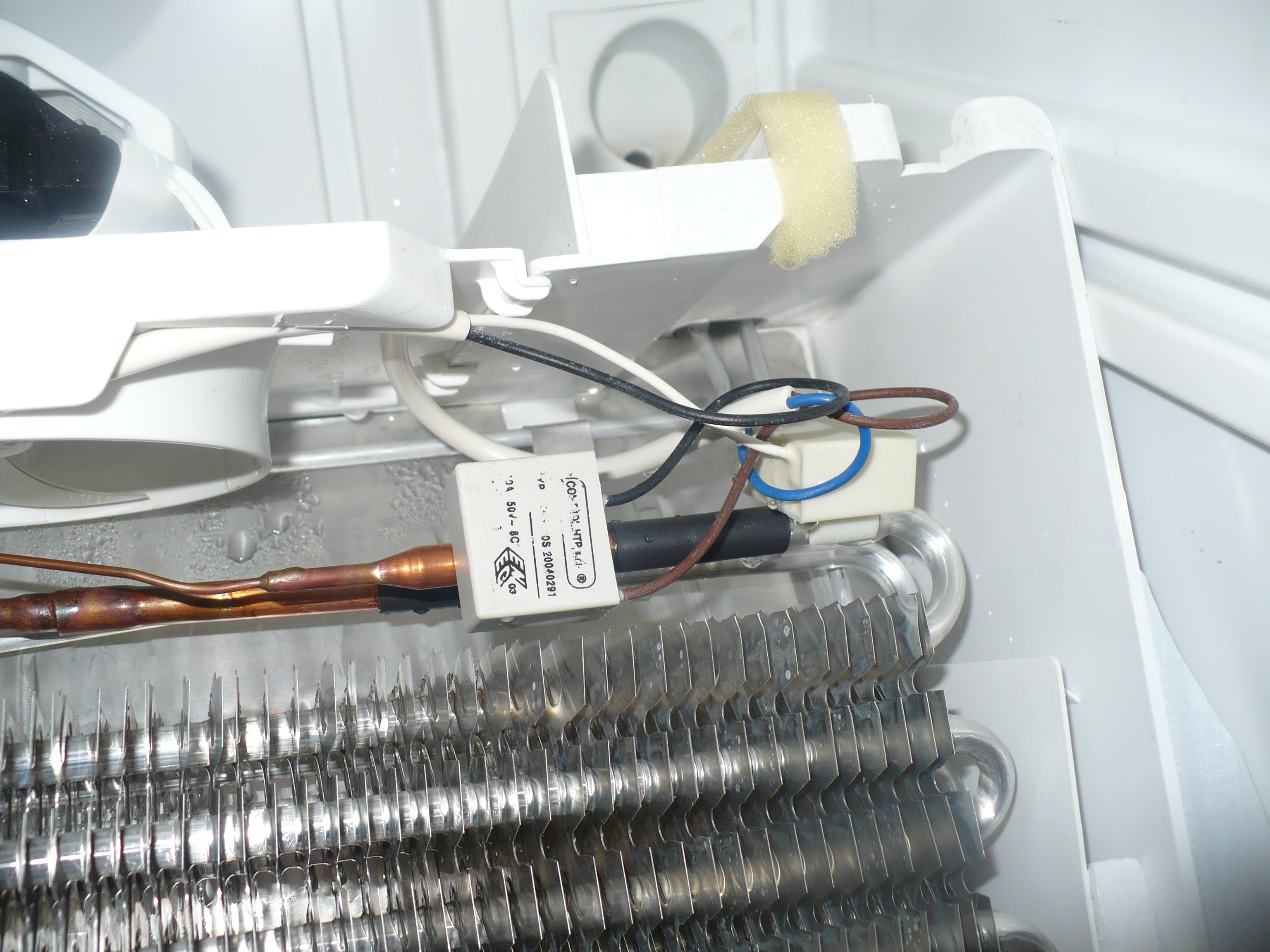 Electrolux ENB39409X nie dzia�a NO FROST, potrzebny DEFROST THERMOSTAT