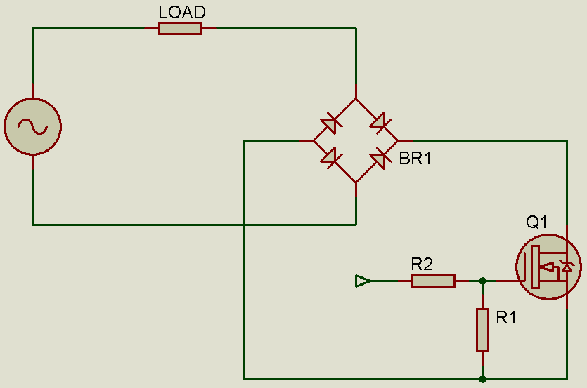 Controlling An Ac Load With A Mosfet Blogs Forum For Electronics