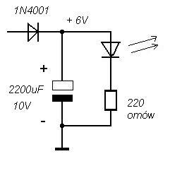 Powoli wygasająca dioda LED?