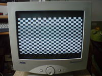 Wyświetlenie 1600x1200 na 15-calowym monitorze CRT