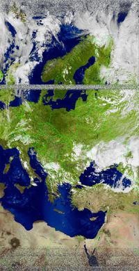 Odbiornik zdjęć meteorologicznych NOAA na LA1185
