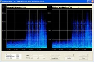 Analizator audio , analizator dzwięku , analizator widma