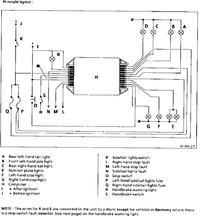 Renault Laguna 1 ph2 - kontroler moduł żarówek, podłączanie