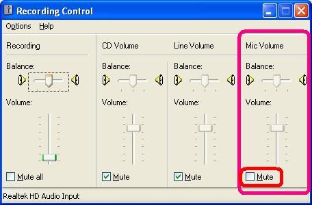 Gigabyte GA-K8VT800-RH - Mikrofon nie działa?