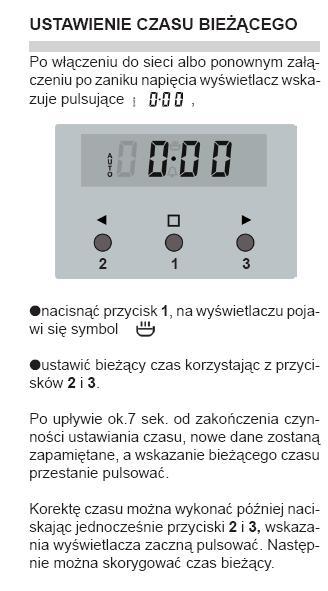 Kuchnia Elektryczna Amica Problem Z Ustawieniam Zegara