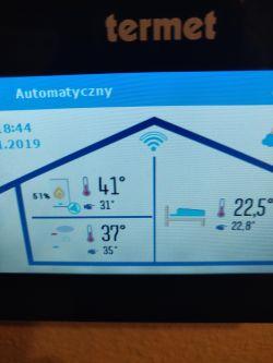 Termet ECOCONDENS GOLD PLUS + ROUND z Wi-Fi - Open-Therm - źle podłączyłem?
