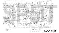 Alan 18 D - Spalone rezystory i dziwne zachowanie wyświetlacza