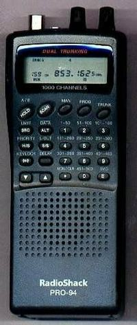 RadioShack PRO-94, PRO94 Instrukcja EN