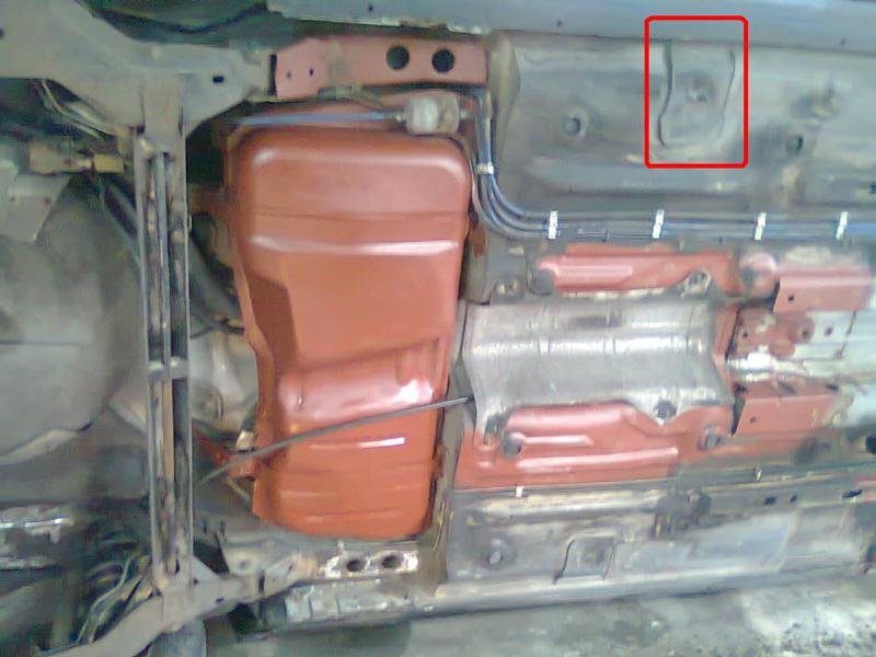 Opel Corsa B 1,2 - Podwozie - identyfikacja elementu