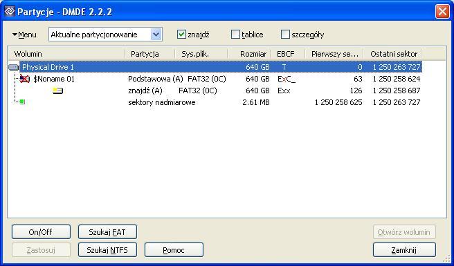 Zamiana RAW na NTFS bez utraty danych