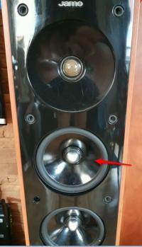 Jamo S606 - Wymiana głośnika