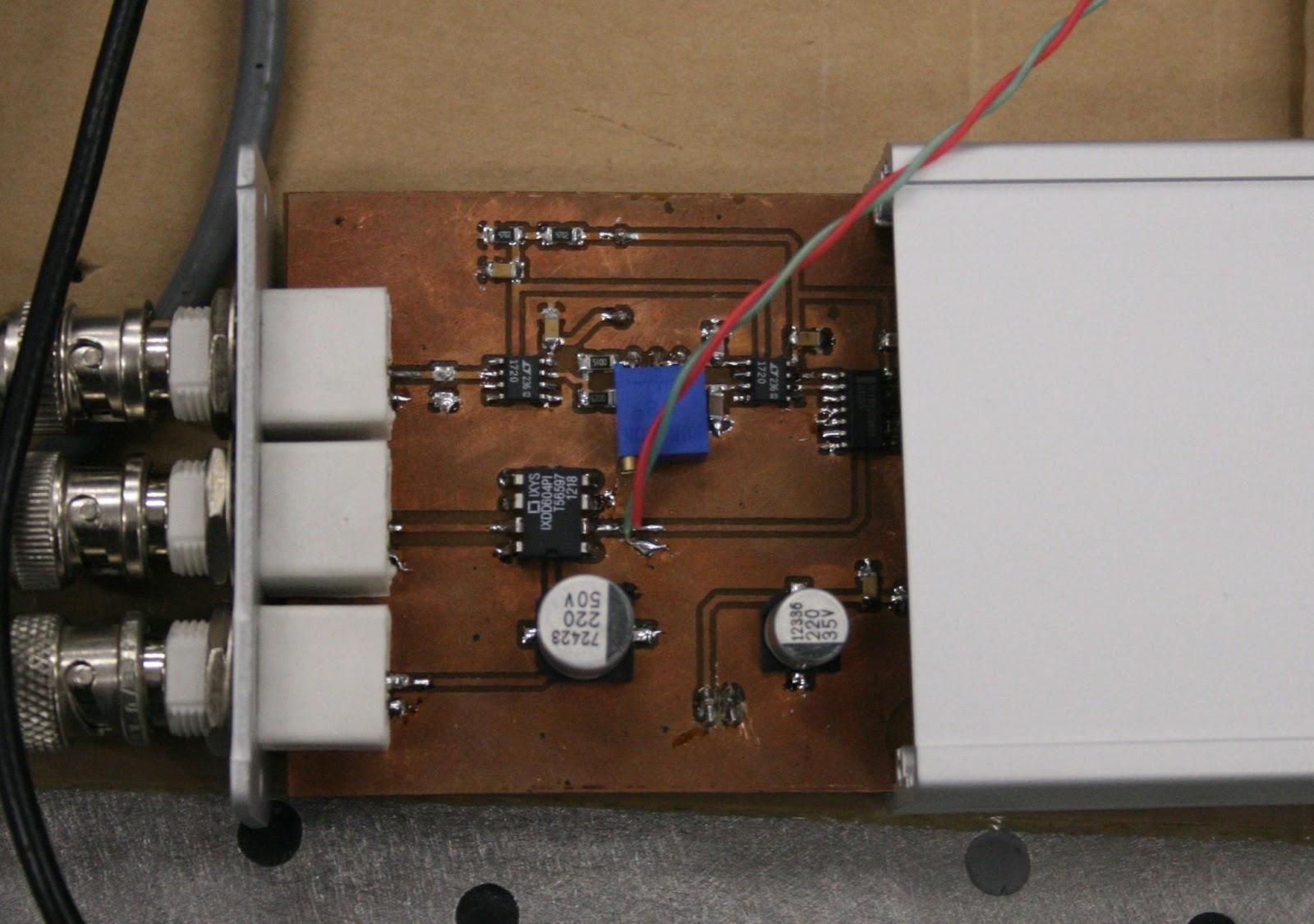 Generator kr�tkich impuls�w mocy do pomiar�w elektroluminescencji