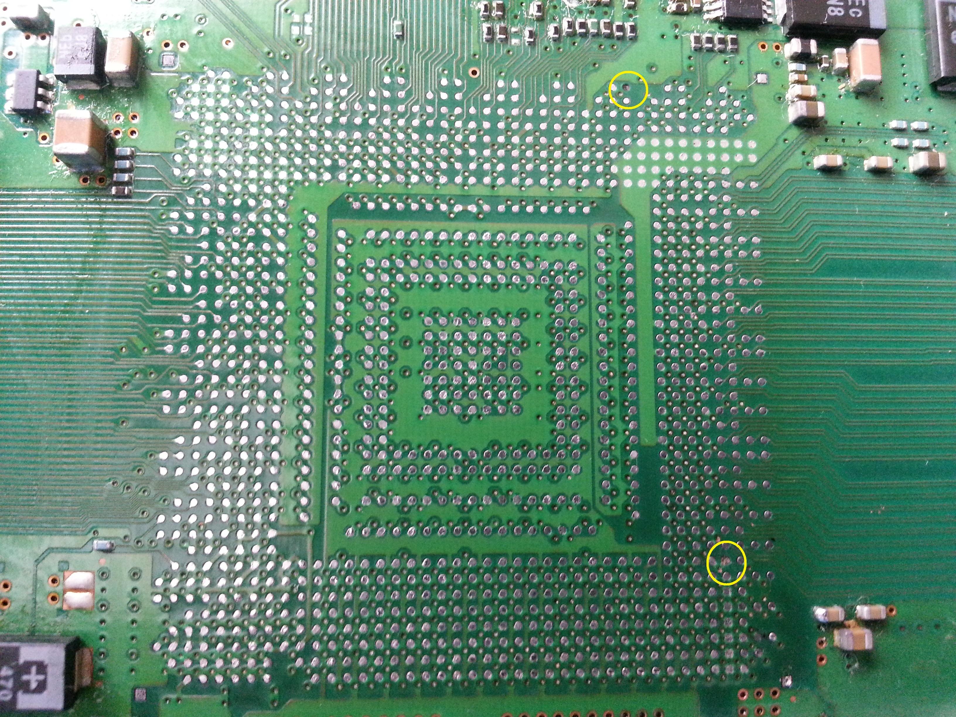 PS3 60GB - Po Reballingu nadal YLOD - zapytanie o pady