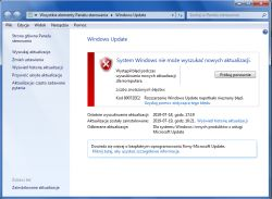 Windows 7 - Windows Update nie działa błąd 0x80072ee2