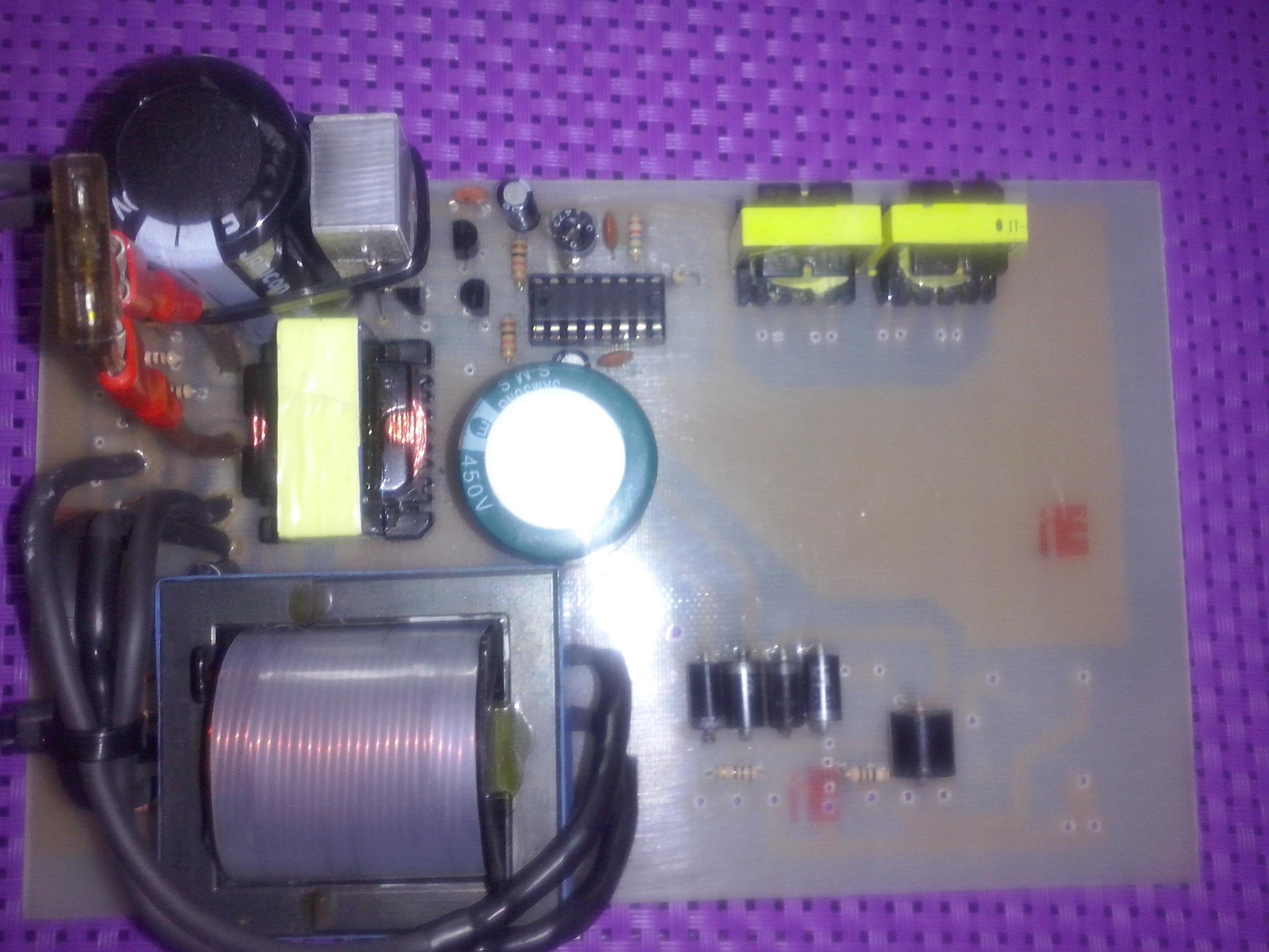 схема генератора импульсов электроудочки